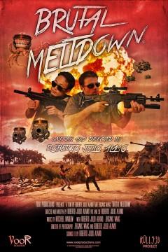 Brutal Meltdown cortometraje cartel poster