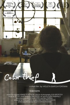 Color thief cortometraje cartel poster