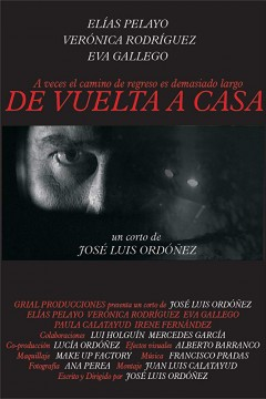 De vuelta a casa cortometraje cartel poster