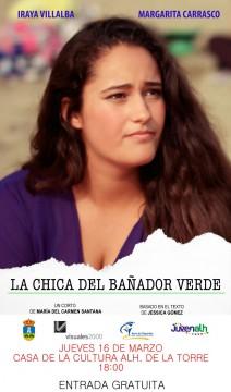 La chica del bañador verde cortometraje cartel poster