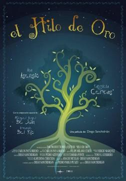 El hilo de oro cortometraje cartel poster