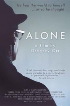 Alone cortometraje cartel poster