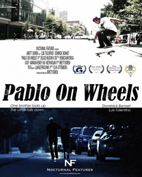 Pablo on Wheels cortometraje cartel poster