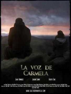 La voz de Carmela cortometraje cartel poster
