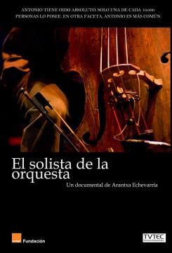 El solista de la orquesta cortometraje cartel poster