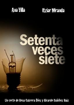 Setenta veces siete cortometraje cartel poster