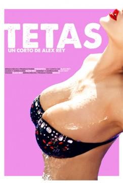 Tetas cortometraje cartel poster