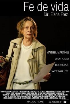 Fe de vida cortometraje cartel poster