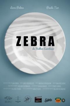Zebra cortometraje cartel poster