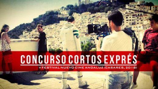 """V Concurso """"Cortos Exprés Nuevo Cine Andaluz"""" del 28 al 30 de septiembre de 2018"""
