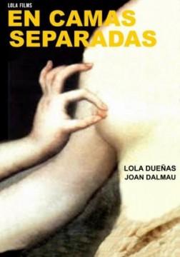 En camas separadas cortometraje cartel poster