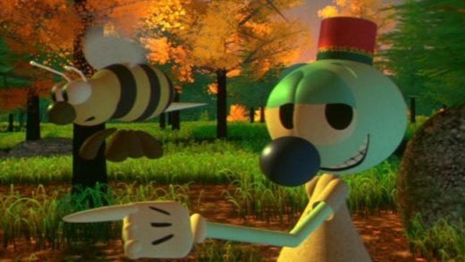 Las aventuras de André y Wally B. Cortometraje de animación de Pixar