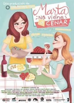 Marta no viene a cenar cortometraje cartel poster