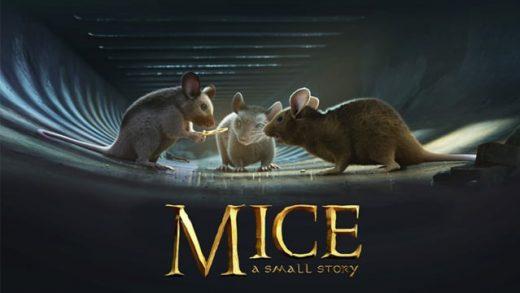 Mice, a small story. Cortometraje de animación 3d de aventuras