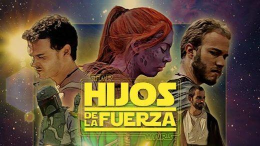Star Wars: Hijos de la Fuerza. Cortometraje fanfilm de Adrián Balpadia