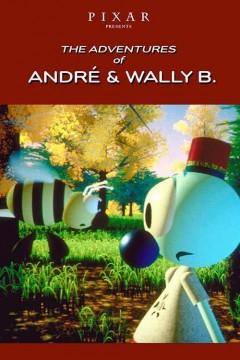Las aventuras de André y Wally B. cortometraje cartel poster