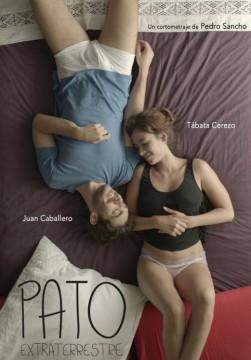 Pato extraterrestre cortometraje cartel poster
