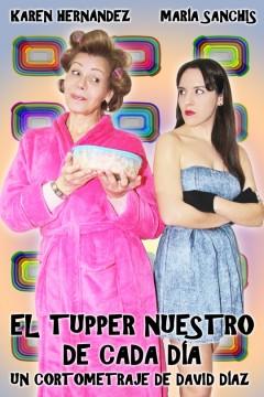 El tupper nuestro de cada día cortometraje cartel poster