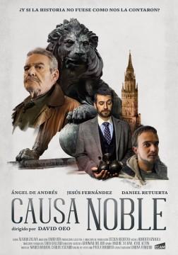 Causa noble cortometraje cartel poster