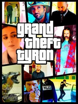 Grand Theft Tyron cortometraje cartel poster
