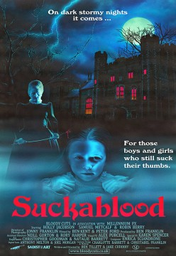 Suckablood cortometraje cartel poster