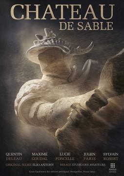 Chateau De Sable cortometraje cartel poster