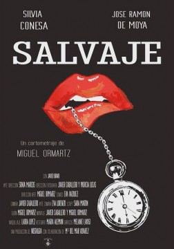 Salvaje cortometraje cartel poster