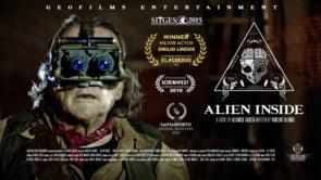 Alien Inside. Cortometraje español de Alfonso García