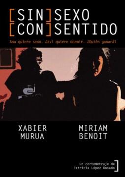 (Sin) Sexo (Con) Sentido corto cartel poster