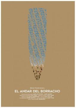 El andar del borracho cortometraje cartel poster