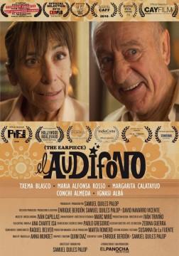 El audífono cortometraje cartel poster