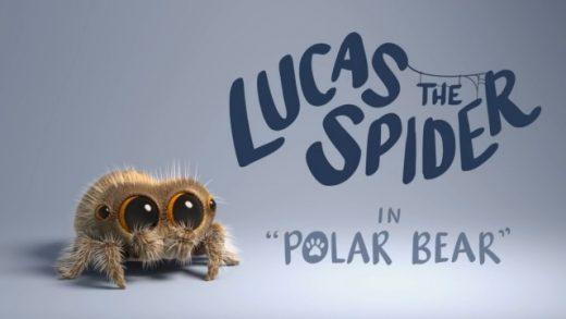 Lucas the Spider - Polar Bear. Cortometraje de animación Joshua Slice