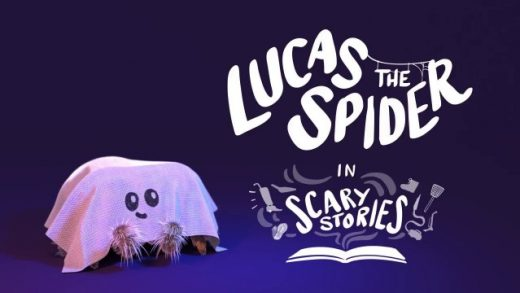 Lucas the Spider - Scary Stories. Cortometraje animación Joshua Slice