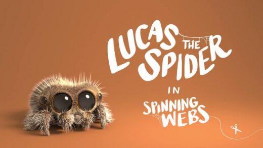 Lucas the Spider - Spinning Webs. Cortometraje animación Joshua Slice