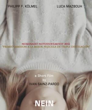 Nein cortometraje cartel poster