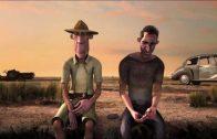 Nullarbor. Cortometraje de animación de Alister Lockhart y Patrick Sarell