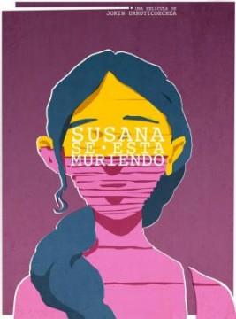 Susana se está muriendo cortometraje cartel poster
