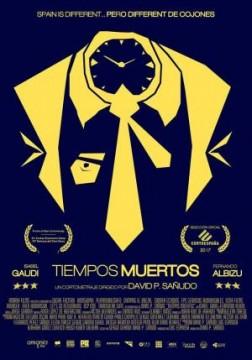 Tiempos muertos cortometraje cartel poster