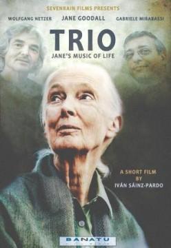 Trio. Jane's Music of Life cortometraje cartel poster