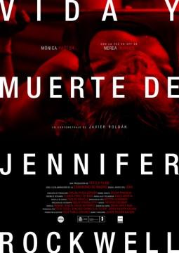 Vida y muerte de Jennifer Rockwell cortometraje cartel poster