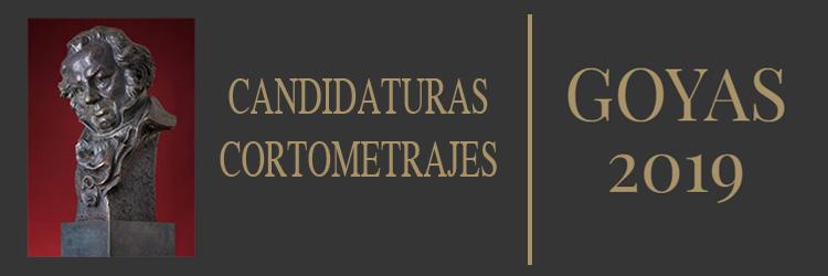 Ya conocemos los cortometrajes candidatos a los Premios Goya 2019