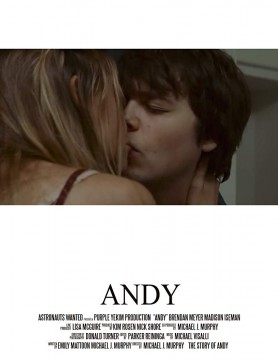 Andy cortometraje cartel poster
