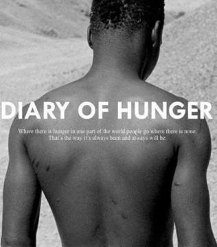 Diario del hambre cortometraje cartel poster