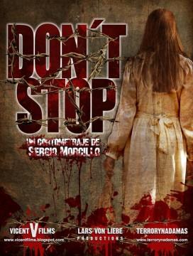 Don´t stop cortometraje cartel poster