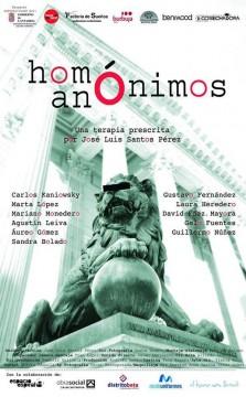 Homónimos anónimos cortometraje cartel poster