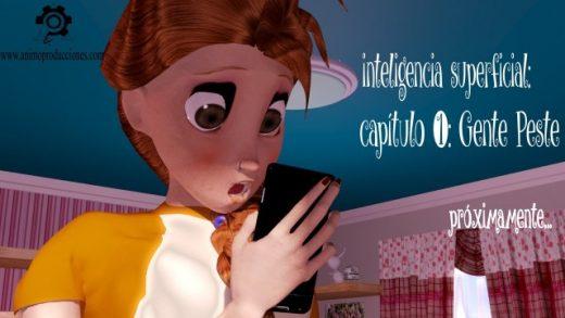 Inteligencia superficial. Cortometraje de animación de José María Peña