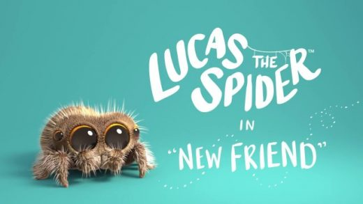 Lucas The Spider - New Friend. Cortometraje de animación Joshua Slice