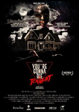 You're Gonna Die Tonight cortometraje cartel poster