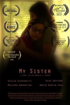 My sister cortometraje cartel poster