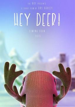 Hey Deer cortometraje cartel poster